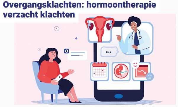 """""""De overgang raakt veel aspecten van de gezondheid. Stuur vrouwen niet van het kastje naar de muur""""- Dorenda van Dijken, gynaecoloog"""